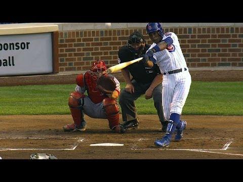 LAA@CHC: Cubs Go Deep Five Times Vs. Halos