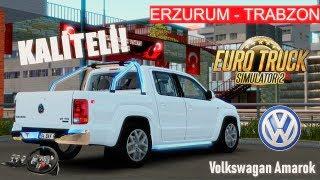 VİTES ANİMASYONLU HARİKA VW AMAROK MODU!- EFSANE YOLLAR! - ETS 2 Türkiye Haritası G29