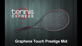 HEAD Graphene Touch Prestige Mid Tennis Racquet Review | Tennis Express