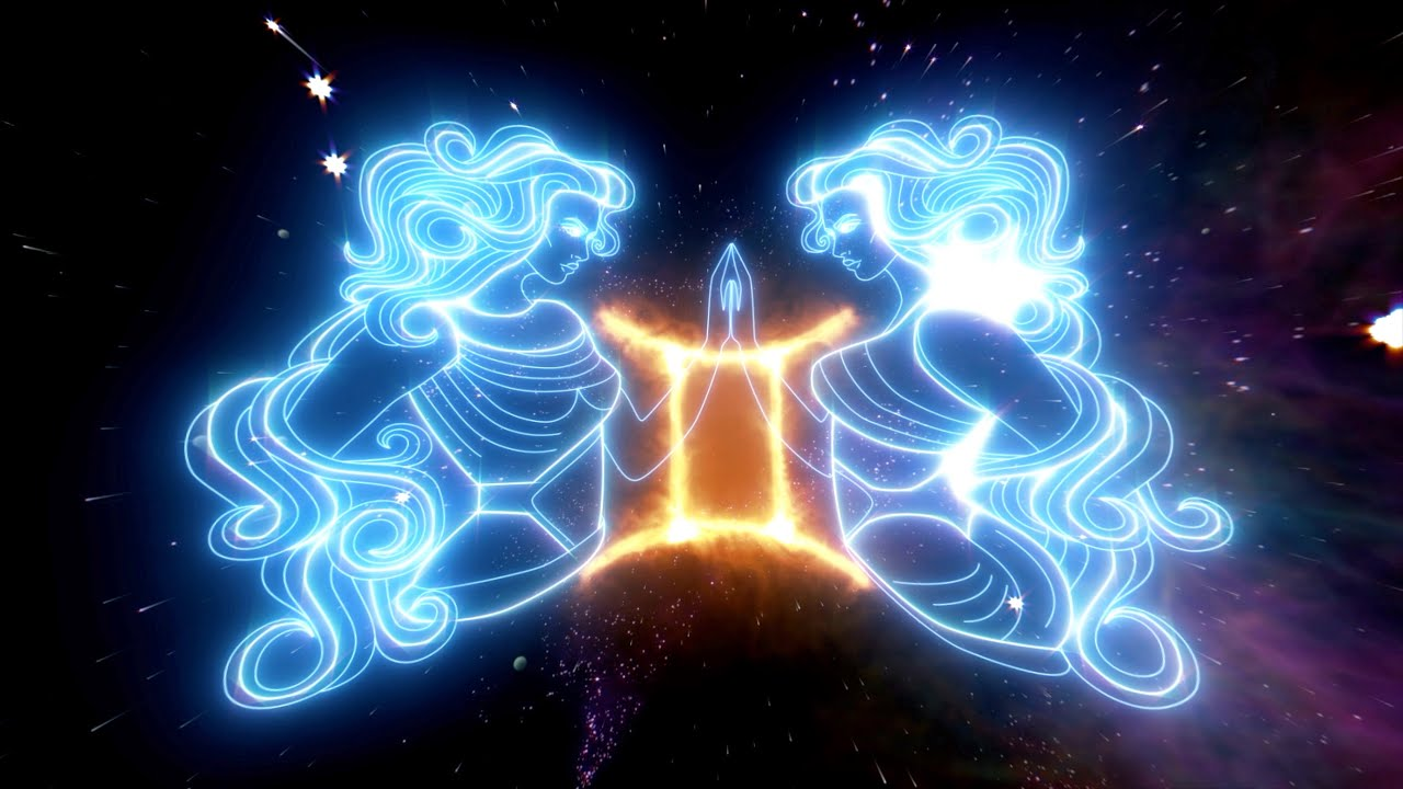 Gemini Energy Healing Meditation Music ♊️ 282 Hz Gemini