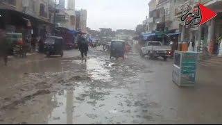 صور وفيديو| قرى «البحيرة» تغرق في الأمطار.. والأهالي: أين ملايين استعدادات الشتاء؟