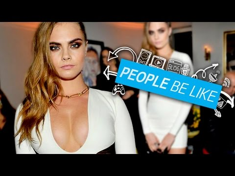 Cara Delevingne Won't Pose Nude Anymore For Feminism - People Be Like