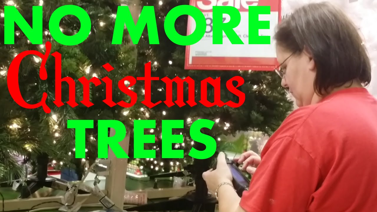 NO MORE CHRISTMAS TREES?! - YouTube