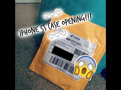 Iphone 5s Case Opening From Amazon