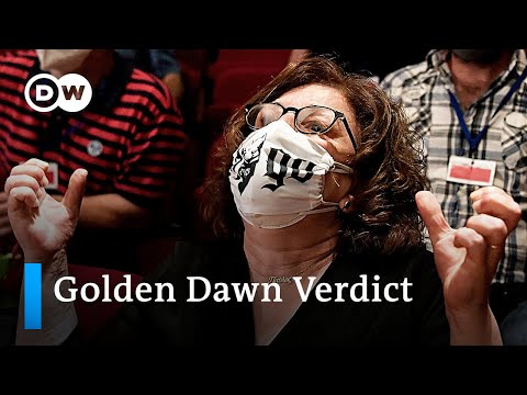 Golden Dawn: Neo-Nazi party leaders convicted of running a criminal organization | DW News