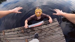 JASON VOORHEES VS PARKOUR IN REAL LIFE   FRIDAY THE 13TH