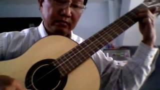Ave Maria  - Bach/Gounod . Guitar tremolo