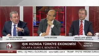 Işık hızında Türkiye ekonomisi 31 Mart 2018 / Türkiye Nereye Ümit Özdağ - Abdüllatif Şener 2. Bölüm
