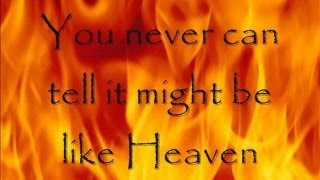 Hinder - See you in Hell (lyrics on screen)