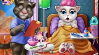 Говорящая кошка Анджела игра №2 Скорая помощь