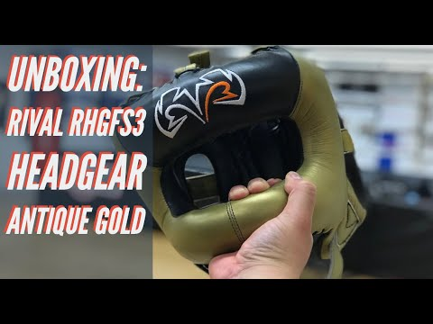 Rival Boxing Headguard RHGFS3 Face Saver Silver