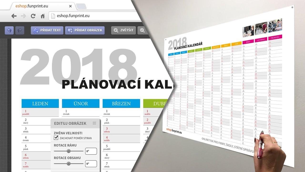 planovaci kalendar android funprint.eu   nástěnný plánovací kalendář   online tvorba   YouTube planovaci kalendar android