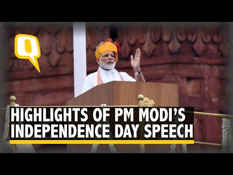 Article 370, Jal Mission: Highlights From PM Modi's I-Day Speech | The Quint