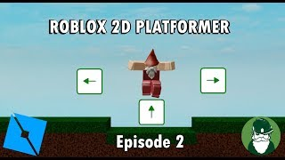 Custom Player Controls (Ep 2) - Let's make a 2D Roblox Platformer Game