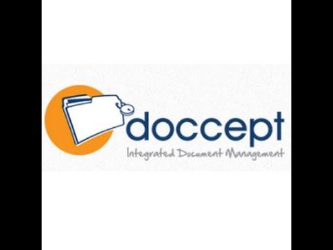 Doccept - Electronic Document Management System