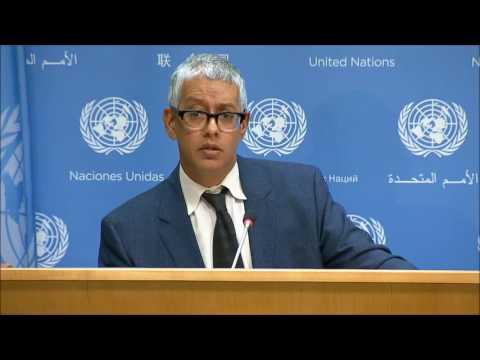 ICP Asks UN Spox of Rapes & Kompass, Burundi; S Korean Trawling Off Somalia, Morocco in UN Room