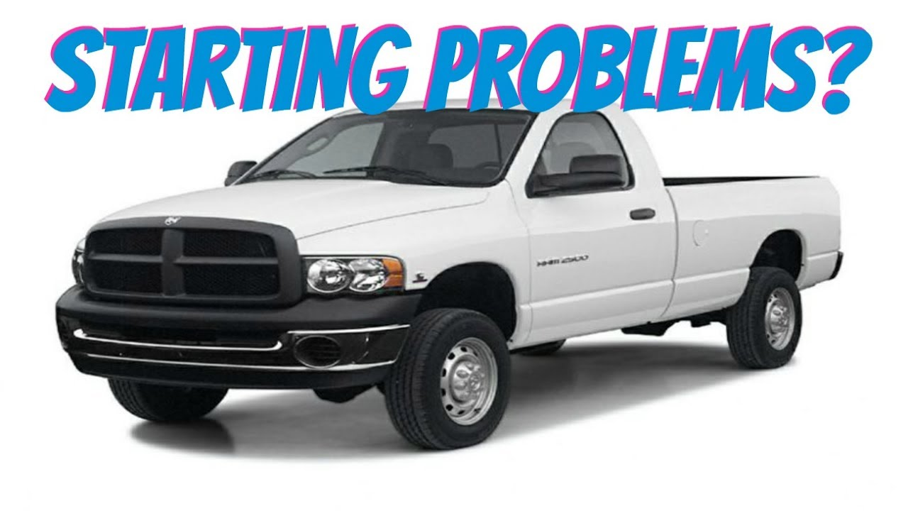 Dodge Ram Cranks But Will Not Start Engine Won T Turn On