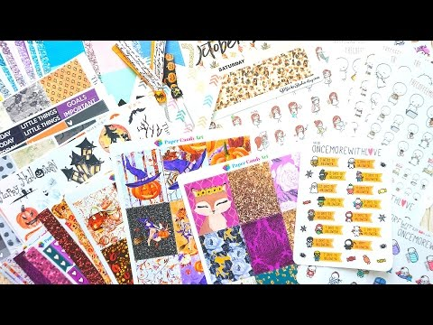 Etsy Haul! Fall & Hand drawn: Planner Stickers & More