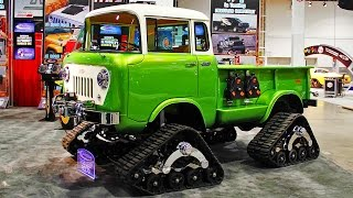 Trucks, Tires, Winches & Offroad Suspension Upgrades with Fred! - 2014 SEMA Week Ep. 4