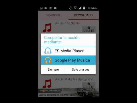 Nueva aplicacion youex music explorer