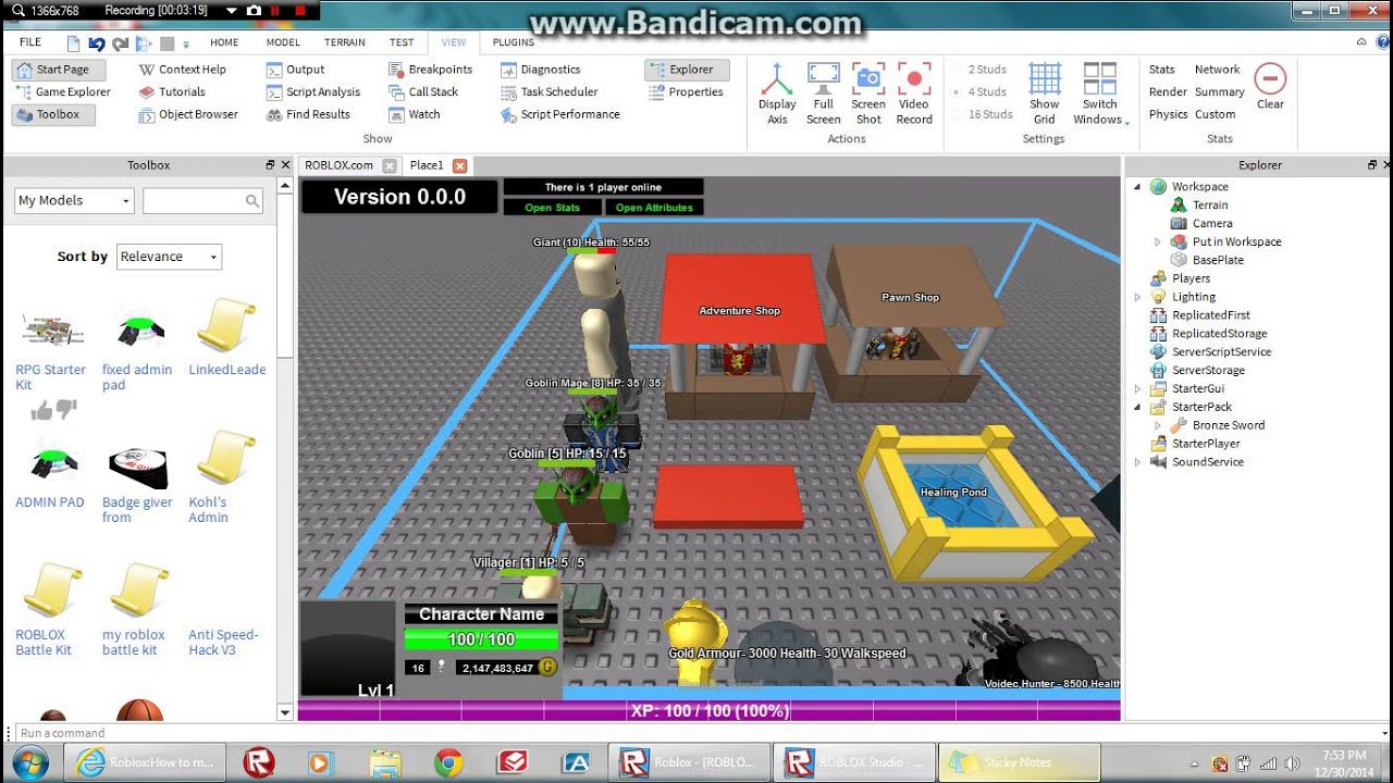how to make an rpg game in roblox