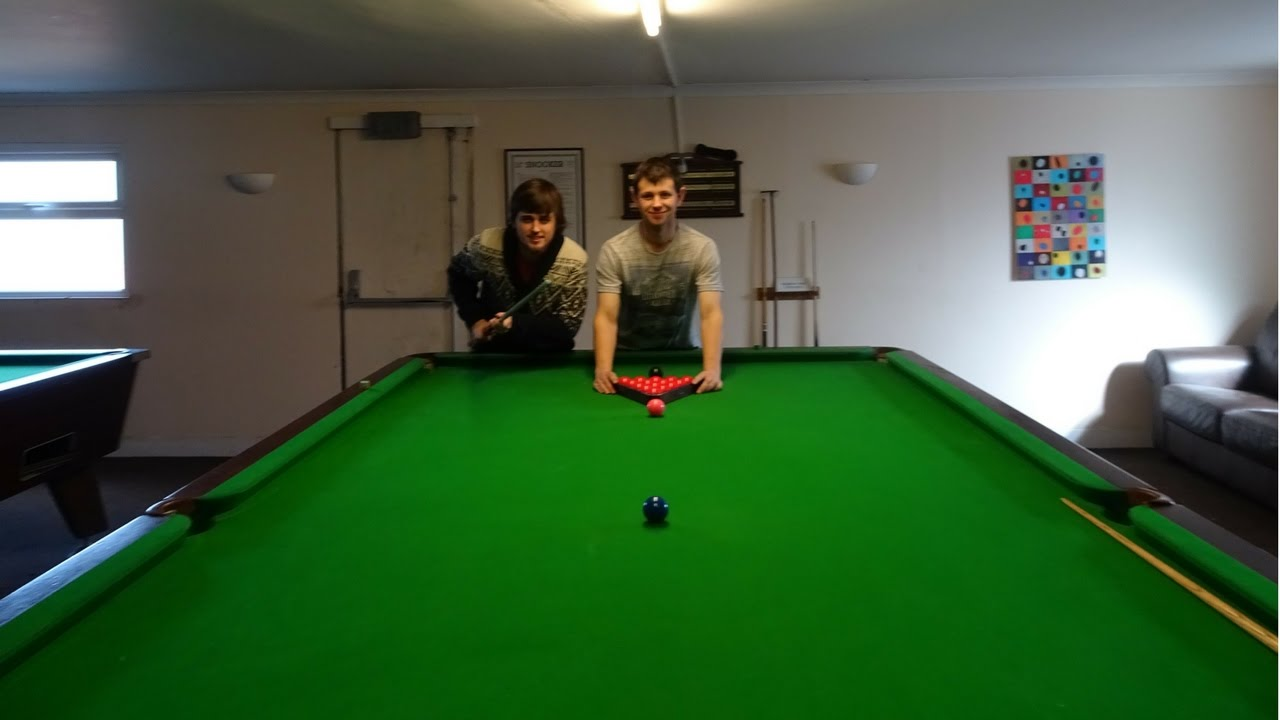 FULL SIZE SNOOKER TABLE YouTube - How big is a full size pool table