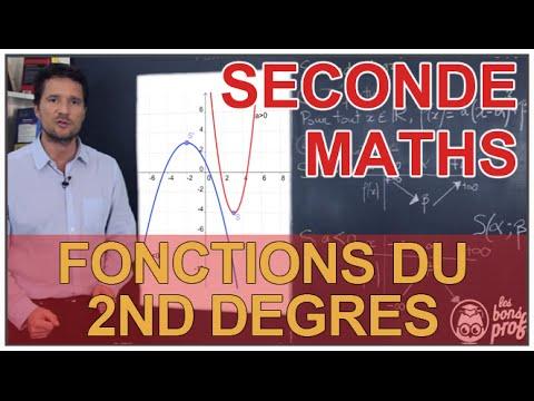 fonction carré - polynômes du second degré -2nde- | Doovi