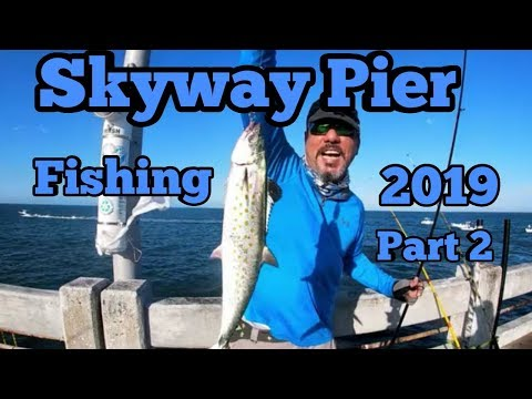 Spanish MACK ATTACK!! - Skyway Pier Fishing Part 2