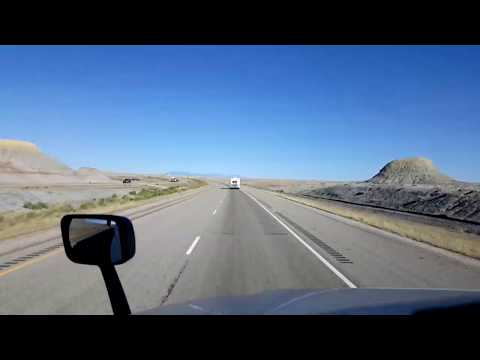 BigRigTravels LIVE! near Green River, Utah to Grand Junction, Colorado Interstate 70 East 6/30/17