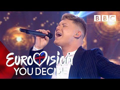 Eurovision 2019 UK Entry   Michael Rice performs 'Bigger Than Us' - BBC