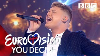Eurovision 2019 UK Entry | Michael Rice performs 'Bigger Than Us' - BBC