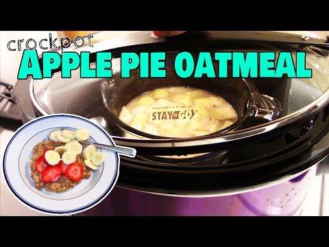Slow Oven Apple Cake Steel-Cut Oatmeal