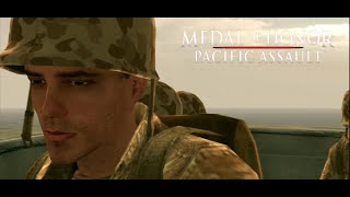 Medal of Honor Pacific Assault Walkthrough - Intro & MIssion #1- Bootcamp