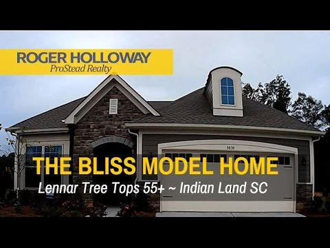 Lennar Tree Tops Bliss Floor Plan Tour Indian Land Sc