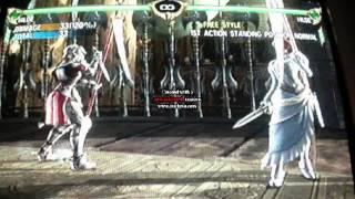 Soul Calibur IV Hilde combo video