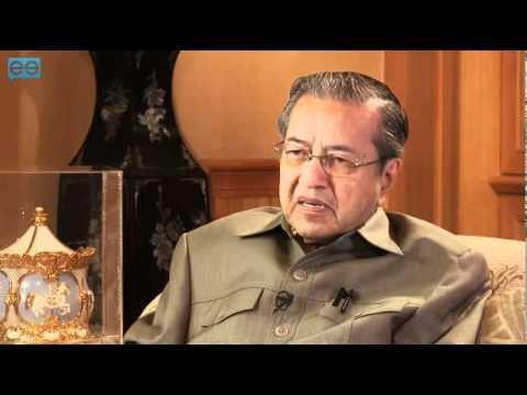 Jacqueline Chow interviewing Tun Dr. Mahathir bin Mohamad, Former Prime Minister of Malaysia