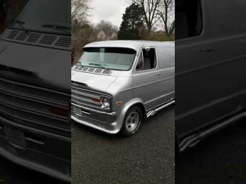 1977 Dodge hot rod van