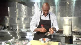 Learn How To Make Crispy Salmon And Watermelon Salsa With Chefrli