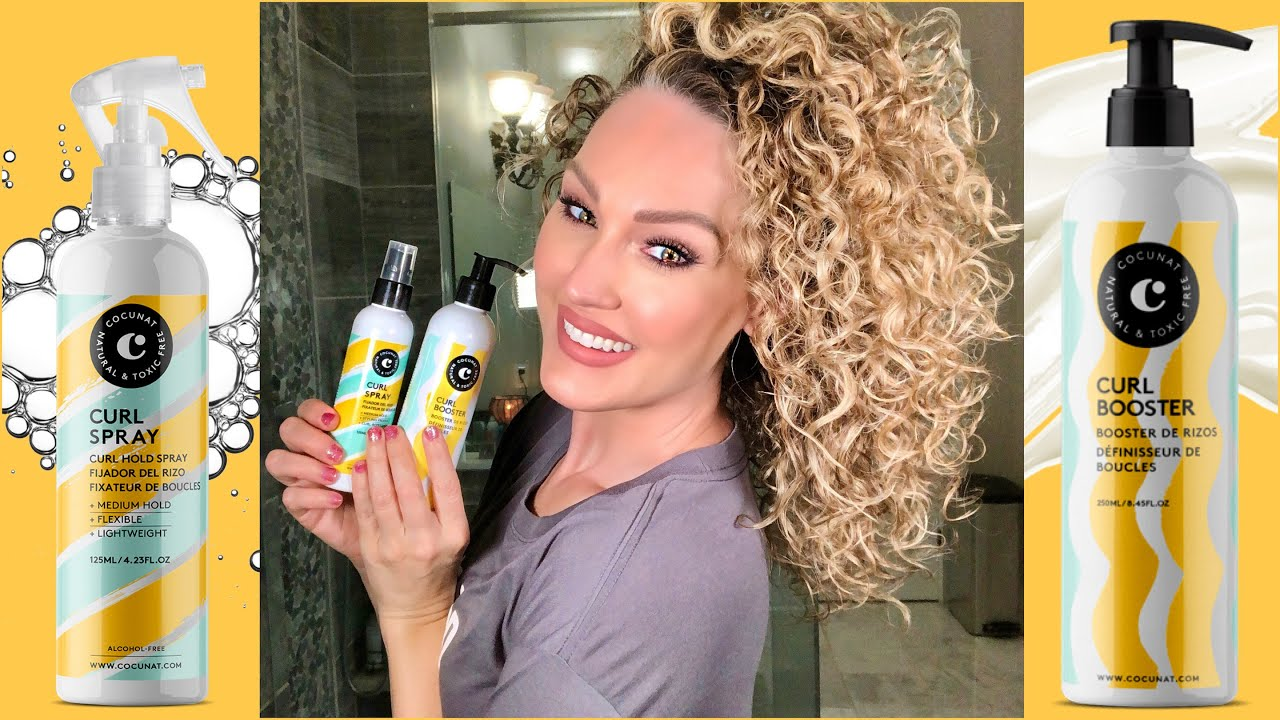 Cocunat Curly Hair Styling Product Review The Glam Belle Youtube