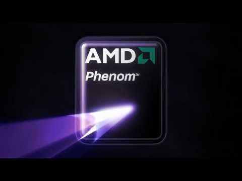 AMD Phenom Animated Logo