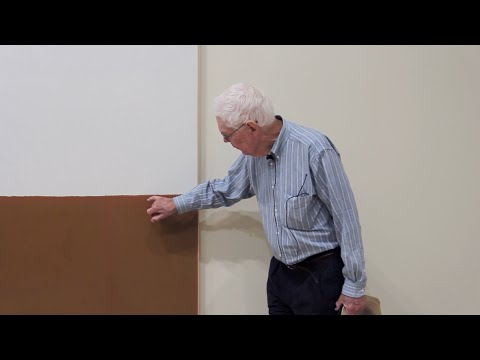 Guided Tour of James Bishop with the artist, September 5, 2014