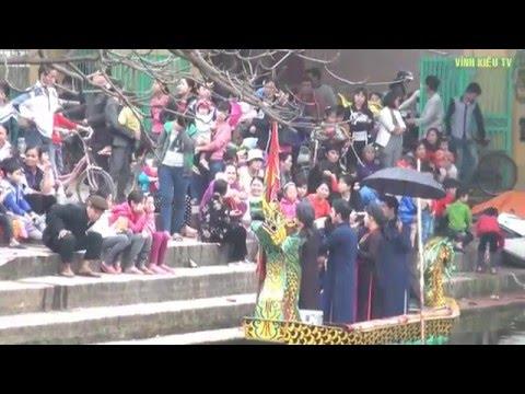 Trầu cau Quan họ (Hát quan họ trên thuyền - hội làng Vĩnh Kiều 2016)