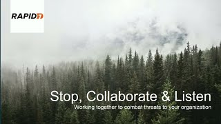 AWS re:Invent 2017: Stop, Collaborate, and Listen: Working together to combat threat (DEM06)