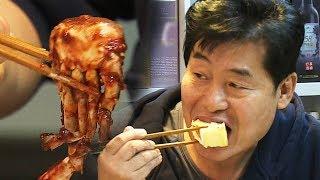이연복, 치즈케이크와 양념 게장 콜라보 공개 '놀라운 조화' @자기야-백년손님 405회 20180104
