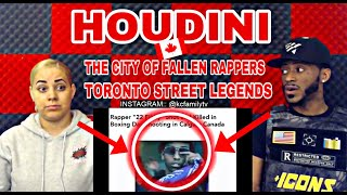"HOUDINI - THE CITY OF FALLEN RAPPERS REACTION TORONTO STREET LEGENDS ""DAMN! THIS WAS CRAZY"""