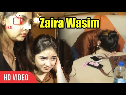 Dangal Actress Zaira Wasim Interaction With Media In Mumbai | Viralbollywood