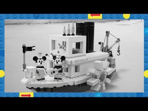 Chino - LEGO LOVERS REJOICE! BLACK & WHITE STEAMBOAT WILLIE SET COMING!