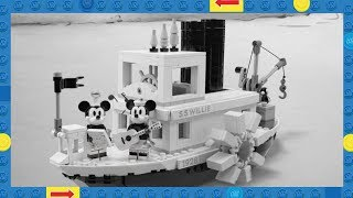 LEGO Ideas Steamboat Willie Set 21317 – Revealed!