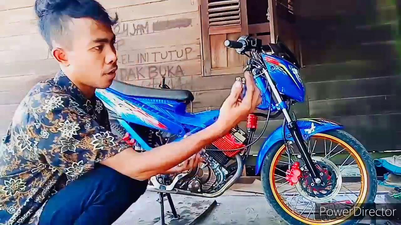 Setting karbu pwk CPO 34 - YouTube