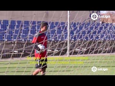 Evan Dimas ja gaudeix de la seva estada a l'Espanyol